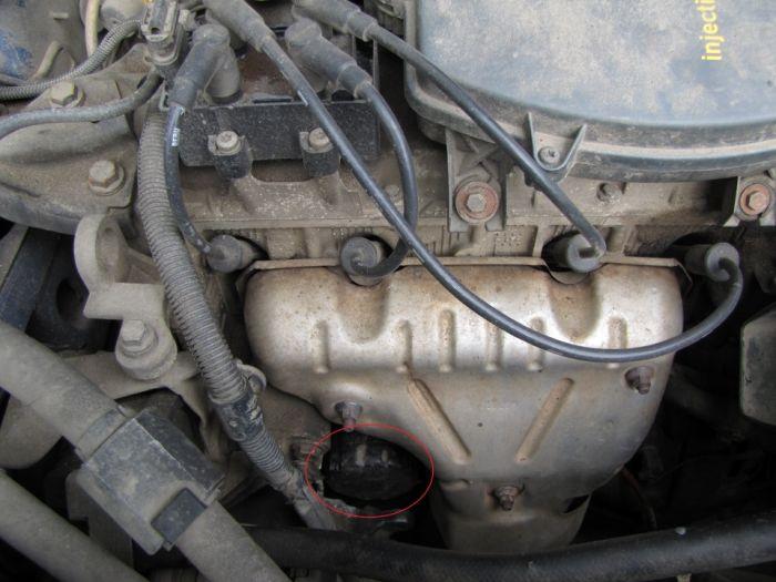 renault symbol замена масла в двигателе