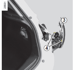лампа стоп сигнала renault symbol