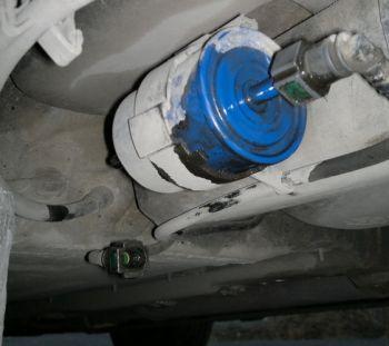 замена топливного фильтра renault laguna 2