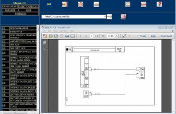 Электрическая схема (VISU) Renault Wiring Diagrams ...