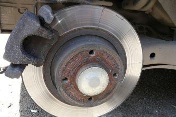 renault clio symbol замена тормозных дисков