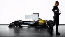 Renault показала каким будет болид F1 в 2027 году