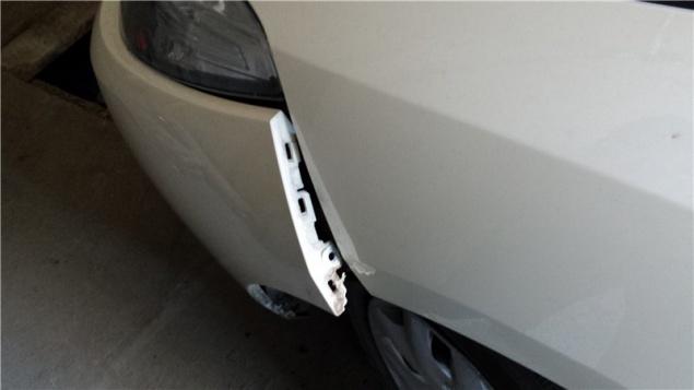 установка датчика парковки renault symbol