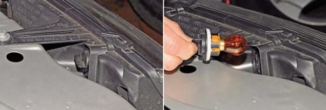 Как поменять габариты на передних фарах в авто рено симбол налог на автомобиль л200