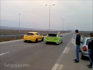 Ford Focus RS & Renault Megane RS