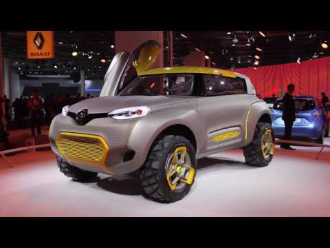 Renault KWID Concept Unveiled In India