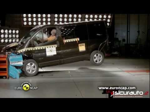 Crash test Euro NCAP Renault Trafic 2012 год