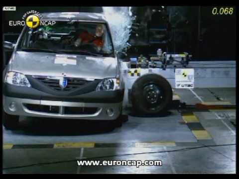 Euro NCAP | Dacia Logan\Renault Logan | 2005 | Crash test