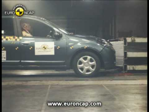 Euro NCAP | Dacia Sandero | 2008 | Crash test