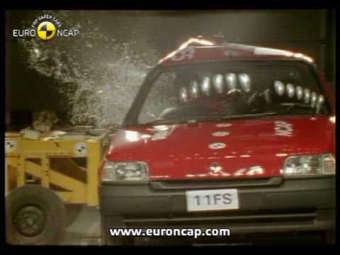 Euro NCAP | Renault Clio | 1997 | Crash test
