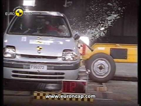 Euro NCAP | Renault Clio | 2000 | Crash test