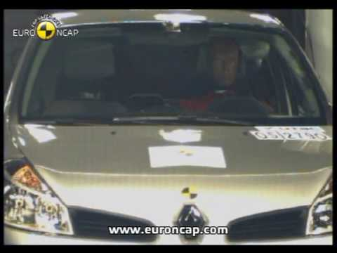 Euro NCAP | Renault Clio | 2005 | Crash test