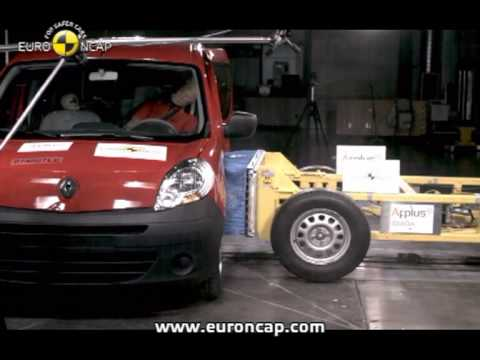 Euro NCAP | Renault Kangoo | 2008 | Crash test