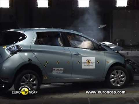 Euro NCAP | Renault ZOE | 2013 | Crash test