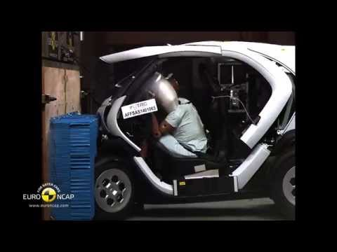 Euro NCAP Crash Test of Renault Twizy 2014