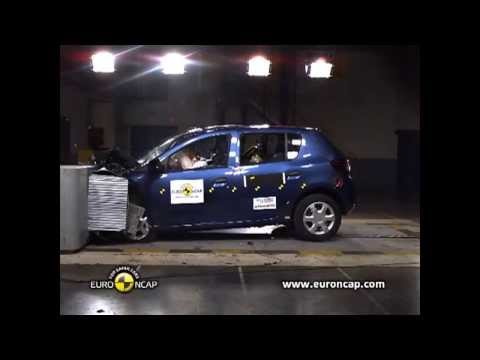 Краш-тест Рено Сандеро Euro NCAP Dacia Sandero 2 Crash Test